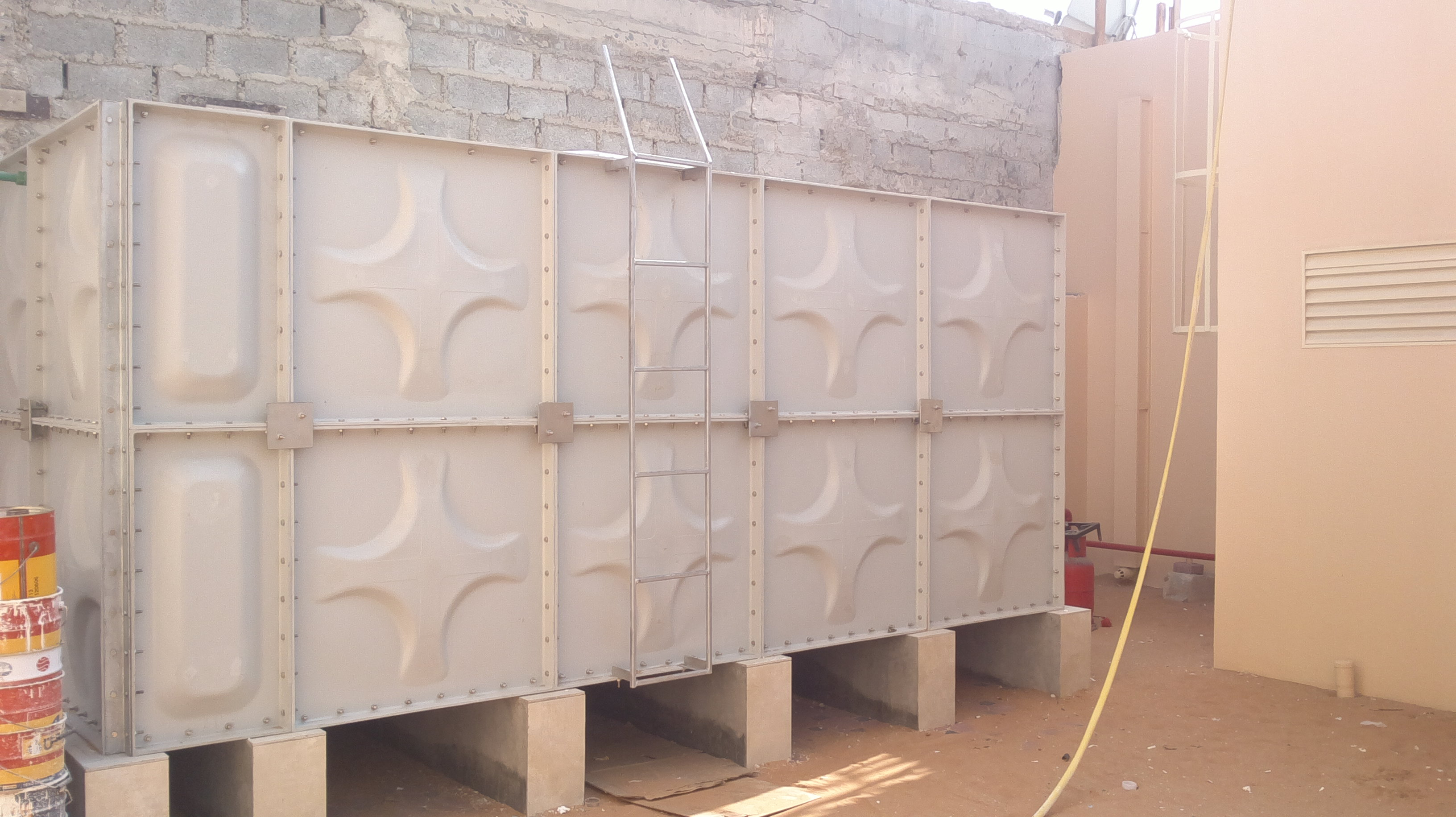 GRP PANEL TANK COLD PRESS